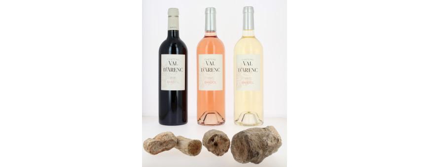 Les meilleurs vins bio de Bandol sont ceux du Château  Val d'Arenc